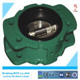 Tipo flangeado válvula de verificação JIS 10k da borboleta ou RUÍDO Bct-Fcv-01 padrão
