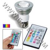 De tache à télécommande de la puissance JDR/E27 ampoule LED élevée