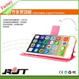 iPhone 6 (RJT-0191)를 위한 Kickstand 손가락으로 튀김 가죽 상자를 가진 PU