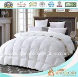 Piuma e giù Duvet bianchi dell'oca del Comforter di colore solido giù