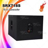 """Srx718sのプロ可聴周波健全なボックスは18 """" Subwooferを選抜する"""