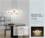 Garantie moderne acrylique 100% d'éclairage de plafonnier de la fleur DEL de festival