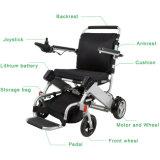 Sillón de ruedas lisiado portable de la energía eléctrica del plegamiento fácil para las personas mayores