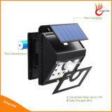 Lâmpada de sensor psta solar nova do movimento de 8 diodos emissores de luz para a iluminação Emergency do ponto do caminho ao ar livre do jardim