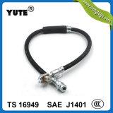 Yute schwarzer vorderer flexibler hydraulische Bremsen-Schlauch für Audi A4