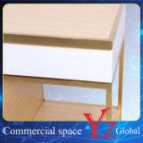 Compteur de système de Module d'exposition d'étalage d'étalage de présentoir d'acier inoxydable de coffret d'étalage du cas d'exposition (YZ161708)