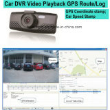 GPSの自動記録器、ルート、制限速度を追跡するGoogleのマップGPSが付いている2.7inchダッシュのカメラのレコーダーは、動きの検出車のブラックボックス、ソニーデジタルのビデオレコーダー思い出す