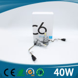 Linterna auto del coche del bulbo H7 LED del poder más elevado C6 LED