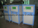 Refrigeratore raffreddato ad acqua del rotolo di plastica
