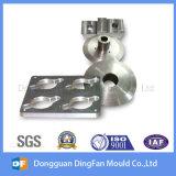 Pieza que trabaja a máquina del CNC de la precisión de aluminio con anodizado