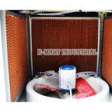 Garniture humide de refroidissement par évaporation de garniture de nid d'abeilles avec des bâtis