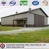 Entrepôt en acier préfabriqué de construction pour cultiver l'utilisation