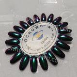 Poudre photochromique 88801 d'art de clou d'effet de miroir de caméléon de colorant de perle