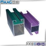 Excelente calidad en polvo de recubrimiento 6063 Extrusión de aluminio