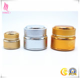 바디 크림을%s 도매 제조자 황금 짜개진 조각 장식용 콘테이너