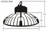 2016 la nuova 150W UL chiara del UFO LED ha approvato