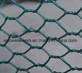 Rete metallica esagonale del pollo del PVC di Sailin