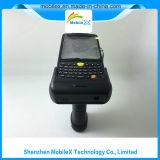 PDA con el apretón de pistola, 1d/2D código de barras, programa de lectura de Lf/Hf/UHF RFID