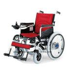 Cuatro ruedas silla de ruedas con motor eléctrico