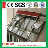 Ventana de aluminio de cristal aislador reflexiva con Ce