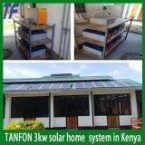 아프리카 시장 (두 배 보호)를 위한 1500W 3000W 5000W 10000W 격자 동점 태양 전지판 장비