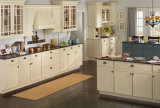 Module de cuisine américain en bois solide de chêne avec le Module de cuisine modulaire en bois solide de taille de compteur de barre