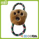 Brinquedo do animal de estimação do brinquedo dos bolinhos da corda do luxuoso do cão