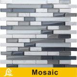 Mosaico horizontal caliente del vidrio cristalino de la mezcla de la venta 8m m para la serie del horizonte de la decoración de la pared (horizonte S H01/H02/H03/H04/H05/H06)