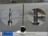 45L/Min Ss316バレルポンプ管が付いている携帯用バレルポンプ