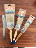 Деревянная щетка краски ручки с естественным материалом щетинки