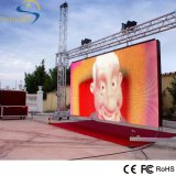 Pared video a todo color al aire libre de P8 LED para el alquiler del asunto