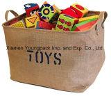 Напечатанная таможня способа выдвиженческая ягнится экстренные большие мешки хранения игрушки джута