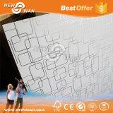 Tarjeta grabada de acrílico ULTRAVIOLETA decorativa del MDF para los muebles