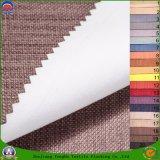 Tissu imperméable à l'eau de rideau en arrêt total d'enduit de franc de tissu de Polyerster tissé par textile à la maison pour le rideau en guichet