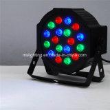 18*1With3W RGB LED Plastik flicht Stadiums-Licht des NENNWERT Licht-/LED