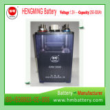 발전기 세트를 위한 Hengming NiCd 건전지 Gnc300 1.2V 300ah Kpx 시리즈 또는 매우 고가 또는 알칼리성 재충전 전지 및 소결된 격판덮개 건전지