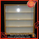 Présentoir en bois rayonnant l'étagère en bois