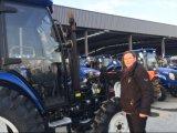 50HP 60HP 70HP 80HP Landwirtschaft vier fahrbare Bauernhof-Traktoren mit A/Ckabine