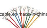 Cable de LAN blindado hoja del ftp Cat5e de la alta calidad con el mensajero