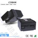GPS Trackertk306A van Coban van de Vierling van de Band van het Voertuig van de Auto Van de gsm/gprs/gps- Drijver OBD II OBD- Gegevens