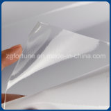 Wasser-niedriges transparentes selbstklebendes Vinyl glatt