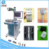 Laser-Etikettiermaschine-Faser-Laserengraver-Stich-Markierungs-Maschine