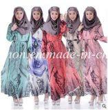La femme musulmane islamique arabe de vêtements de femme d'Embrodiery s'use