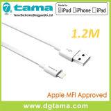 1.2m Vlakke Kabel USB met de Schakelaar van de Verlichting