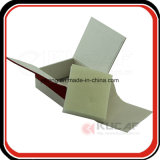 Rectángulo de empaquetado de la cartulina de lujo con la esponja Tay