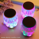 Altavoz sin hilos de Bluetooth con el altavoz del color LED MP3/MP4