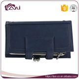 بيضاء زرقاء [مولتيفونكأيشن] محفظة محفظة لأنّ سيادة, [بو] جلد محفظة محفظة