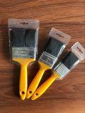 Pennello nero della setola con la maniglia di plastica