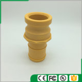 Accoppiamenti di plastica/rapidamente del Camlock accoppiamenti (Tipo-e), colore giallo