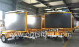 Mobile Mobile Mobile Trailer Traffic Message modifiable Panneau d'affichage couleur Portable LED Signature Vms